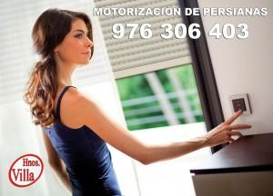Motorización persianas domésticas Zaragoza