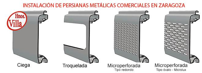Instalacion persianas metalicas Zaragoza